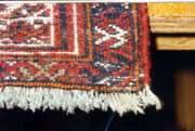 Oriental Rug After Restoration