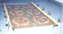 Blocking and Resquaring of Oriental Rugs