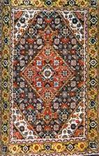 Rectilinear Oriental Rug