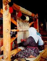 rug weaving process