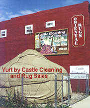 Yurt by Castle Cleaning and Rug Sales