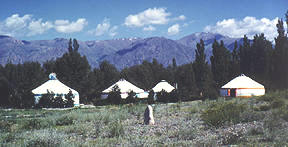 Yurts on the Front Range